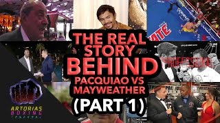 Video The Real Story Behind Pacquiao vs Mayweather (Documentary | Episode 01) MP3, 3GP, MP4, WEBM, AVI, FLV Juli 2019