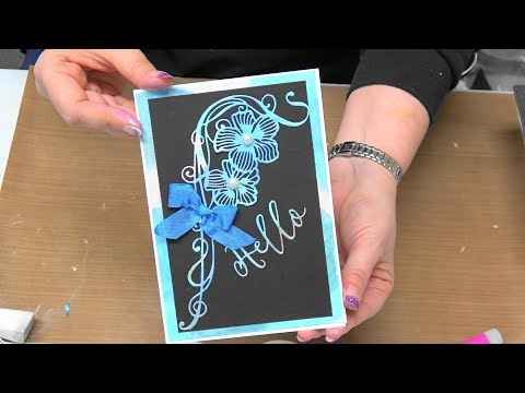 #221 Color and Embellish with Nuvo Mousse & October Simply Refined Dies by Scrapbooking Made Simple