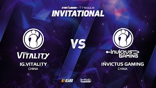 IG.Vitality vs Invictus Gaming, Game 2, SL i-League Invitational S2, CN Qualifier