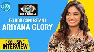 Bigg Boss 4 Telugu Ariyana Glory Exclusive Interview