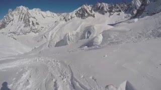 Nonton Vallee Blanche Off Piste Skiing  From Punta Helbronner To Chamonix  10 03 2016 Film Subtitle Indonesia Streaming Movie Download