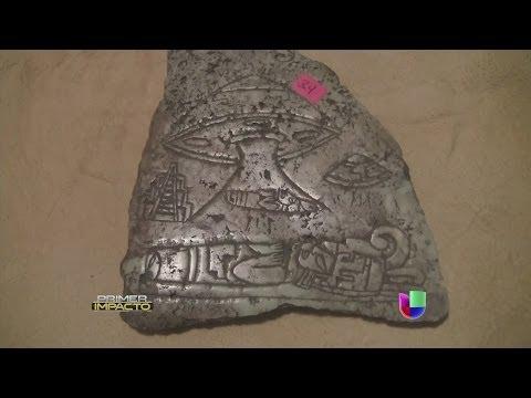 Antigua civilización mexicana dejó vestigios de ovnis - Primer Impacto (видео)