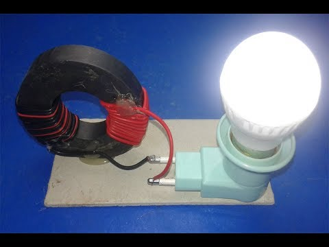 Download Free Energy Generator  light bulb 220v with Magnet l New Technology