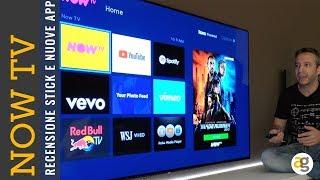 Recensione NowTV SMART stick NUOVE APP ed ecosistema