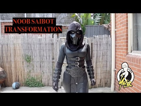 Noob Saibot Cosplay Transformation