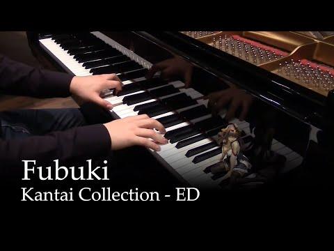 Fubuki - Kantai Collection ED [piano] (видео)