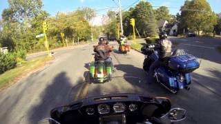 5. Test Riding the 2014 Harley Ultra Limited Electra Glide