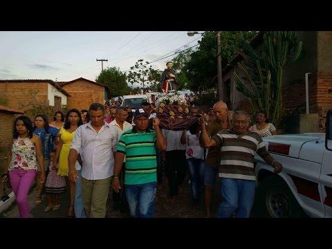 Procissão de encerramento dos festejos de São Francisco de Assis em Francinópolis - PI