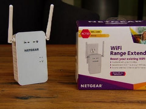The Netgear EX6100 extends the range of your Wi-Fi network — and not much else