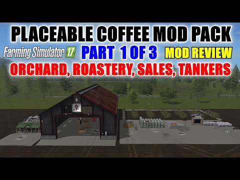 Placeable Coffee Mod Pack v1.0