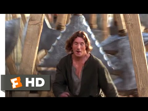 First Knight (1995) - Running the Gauntlet Scene (3/10)   Movieclips