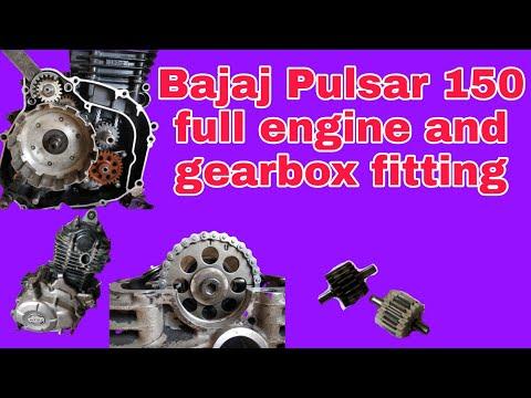 Bajaj Pulsar full engine fitting