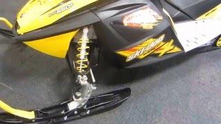 10. 2008 Ski Doo 550 MXZ X ES   US715 019