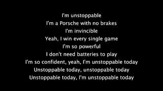 Video Sia - Unstoppable lyrics MP3, 3GP, MP4, WEBM, AVI, FLV April 2018