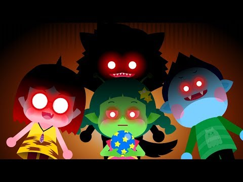 몬스터 유치원 #1 | 늑대인간 드라큘라 외계인 도깨비 친구들 | 새 친구는 누구일까요? | 유아 인성동화★지니키즈