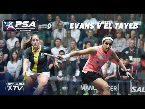 PSA Rewind - Evans v El Tayeb - Manchester Open 2019 - Full Match