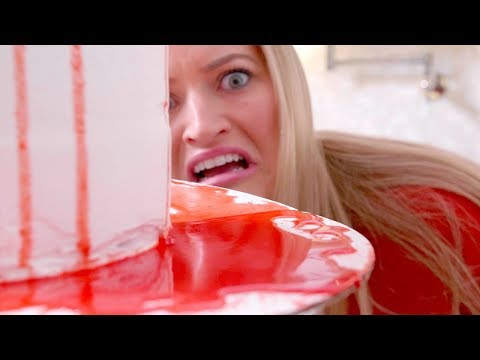 💔 Valentine's Day Bleeding Heart Cake!