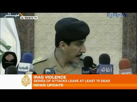 Iraq hit by deadly attacks