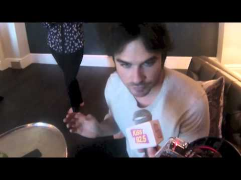 Ian - Damnit Maurie chats with Ian Somerhalder about the season finale of Vampire Diaries and its recent renewal for more seasons.. Plus they chat about Cree Light...