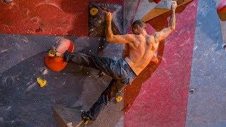 Trying Every Hard Boulder At My Climbing Wall by Matt Groom