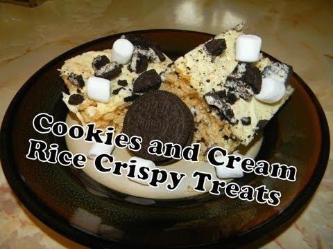 Cookies And Cream Rice Crispy Treats! ️😍 | Trusper