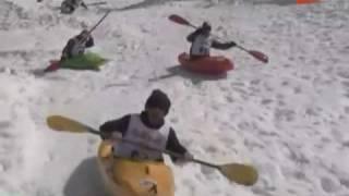 Snowkayak