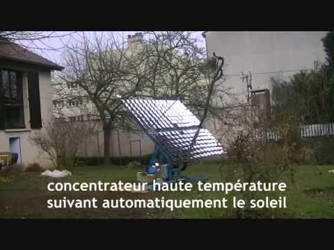 capteur solaire haute température posted on Mind & Market