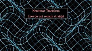 Examples Of Nonlinear Two Dimensional Transformations