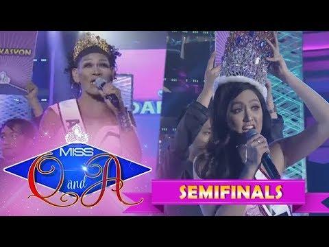 It's Showtime Miss Q & A Semifinals: Angelika Mapanganib vs. Lars Pacheco   Di Ba? Teh! Ganern