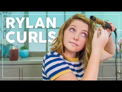 Easy hairstyles - Rylan Creates Quick, Easy Wand Curls for Short Hair!