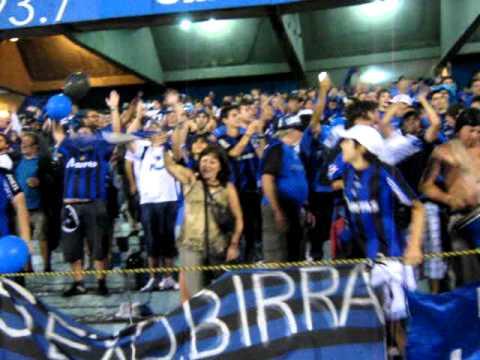 Gremio - Liverpool  02-02-2011 190.AVI - Los Negros de la Cuchilla - Liverpool de Montevideo