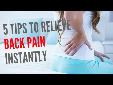 How To Relieve Lower Back Pain Instantly? (THIS WORKS!!!)