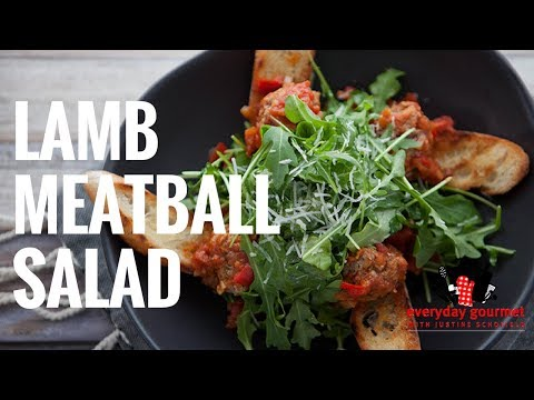 Tefal Lamb Meatball Salad | Everyday Gourmet S6 EP54