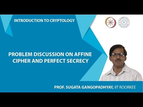 Problem Discussion on Affine cipher and Perfect Secrecy