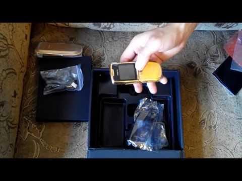 Trên  Tay Điện Thoại Nokia 8800 Siroco Gold - Điện Thoại 8800 Chính Hãng