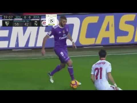 Sevilla 2-1 Real Madrid Video Highlights   15.01.2017