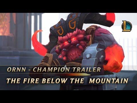 Ornn, the Fire Below the Mountain | Champion Trailer - League of Legends (видео)
