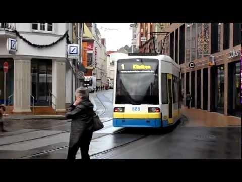 Straßenbahn Schwerin - Impressionen Dezember 2011