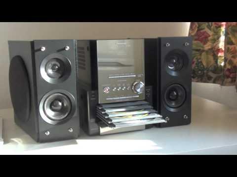 PANASONIC SA-PM27 CD STEREO SYSTEM