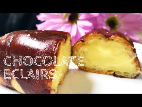 How To Make the BEST Chocolate Eclairs