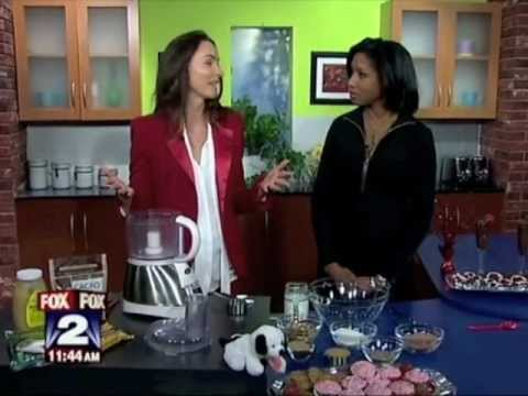 Fox News Morning Raw Chocolate Drops with Elizabeth Katzman of Elizabeth's Kind Cafe