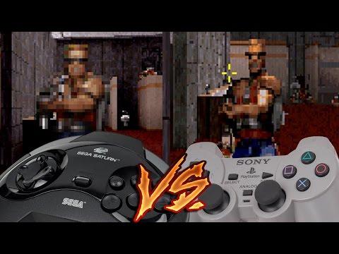 Sega Saturn Vs PlayStation - Duke Nukem 3D