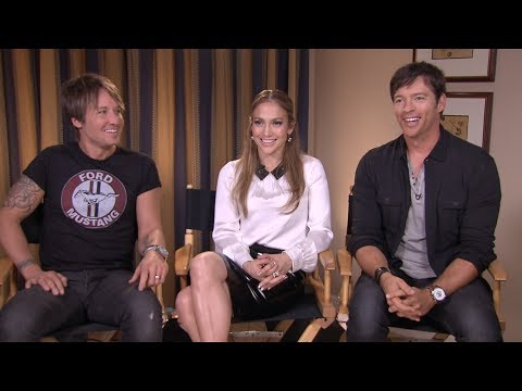 AMERICAN IDOL Interview: Jennifer Lopez, Keith Urban and Harry Connick Jr.