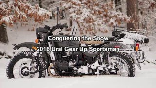 8. 2016 Ural Gear Up Snow Day, Ural of New England