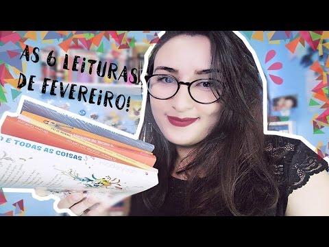LEITURAS DO MÊS: FEVEREIRO | por Carol Sant