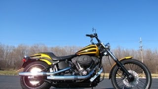 10. 2008 Harley-Davidson Softail Night Train FXSTB