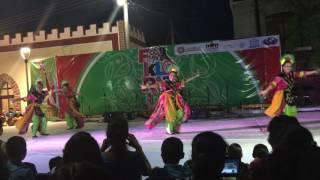 Bajidor Kahot Dance at Folkloriada 2016 Mexico Video