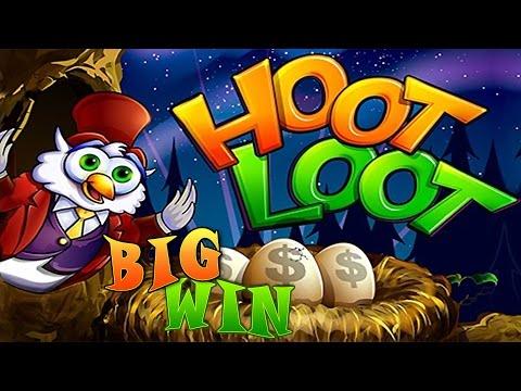 Hoot Loot Fort Knox - Big Win bonus - Slot Machine Bonus