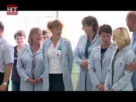 В новгородском филиале корпорации «Системы прецизионного приборостроения» появился новый цех