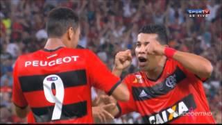 Flamengo 4 X 0 Botafogo - 2° Jogo Quartas-de-Final Copa do Brasil 2013 - Hernane (3) e Leo Moura.